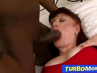 Czech redhead cougar Dasa blacked by big cock