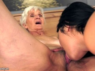 Mature Granny Tutors Her Grand Daughter How Lesbianism Used To Roll In The 50S (2)