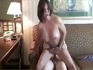 STP5 Grandmother Gives Him His First Proper Fuck !