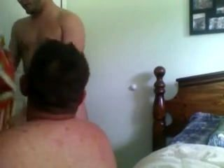 Sucking My Str8 Friend While The Wife Is Working
