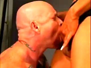 Gorgeous TS sucked by man with pussy