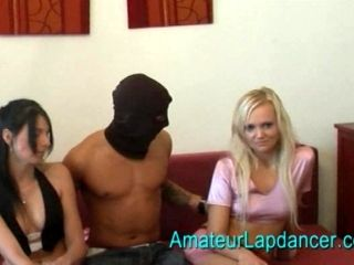 Poker Face Girls And A Horny Guy (6)