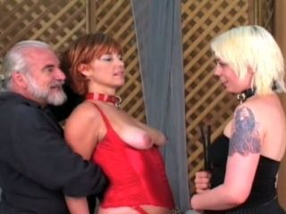 Submissive Redhead Mom Pussy Licking In Lesbian Ation