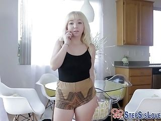 Toying Teen Stepsister
