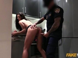 Fake Cop Female wanna be cop having hot sex (2)