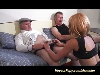 A Great Day For Our Voyeur Papy