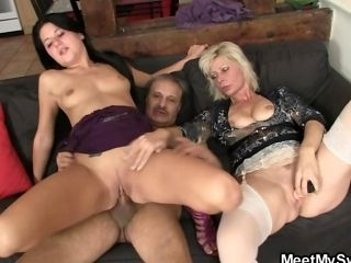 Nasty leisure with our son's GF