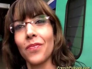 French milf in the train