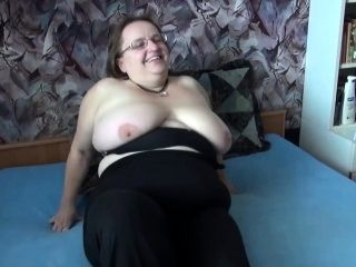 Couple Gets Granny In Bed (2)