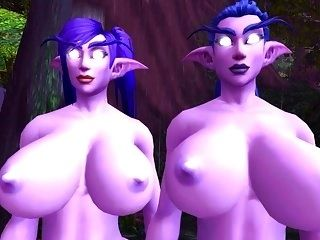 Night Elf Twins