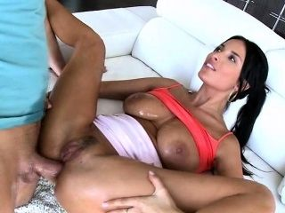 Big tits sexy French big ass babe Anissa Kate anal fucked (3)