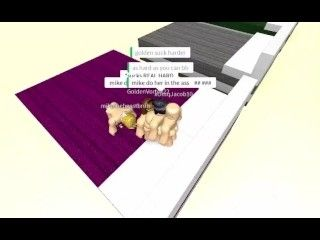 Amazing ROBLOX Group Orgy
