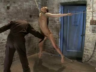 Tiffany Tyler Toyed while Tied in Kinky BDSM Video
