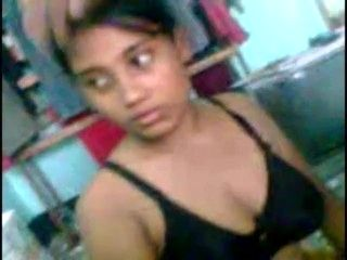 Sweet Indian Bengali girl with 2 friends basic video quality