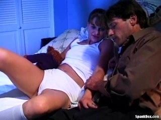 Father Seduces His Daughter To Fuck Her