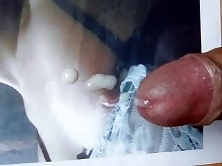Cumshot On Picture Of My Girlfriend Who Loves Cum 10
