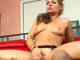 Dick James bangs slutty blonde Kelly Leigh in her sad face