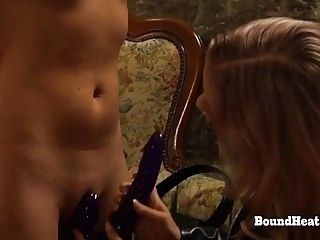 The Submission of Sophie: Mistress Testing Slave Pussies