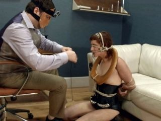 Alluring Bdsm Fetish Babe Getting Her Nice Ass Spanked Then Drilled Doggy Style
