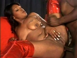 Aged Darksome Woman Acquires An Assful Of Jock (3)