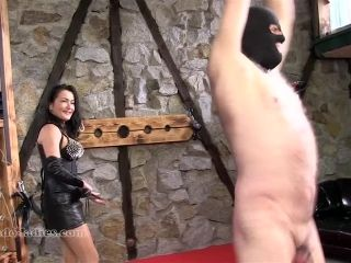 Sado Ladies Whipping And Caning  Step Dance Unde