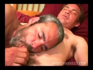 Mature Amateurs Barry and Zack Suck Dick (3)