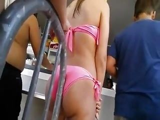 Sexy Teen Beauty Ass Bikini (3)
