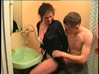 Russian Mother With Her Son 3