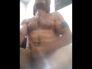 Amateur Male Multiple Nonstop Ejaculations Rough Cock Beat down by Straight
