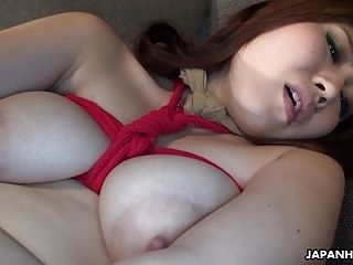 Asian Busty Babe Tied Up To Be Toy Fucked (6)