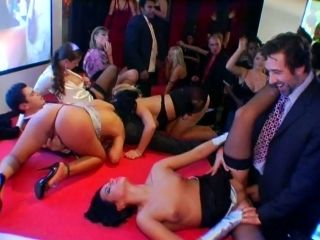 Group Sex Orgy On The Dance Floor
