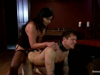 Parker London gets his ass drilled by Phoenix Marie in BDSM scene