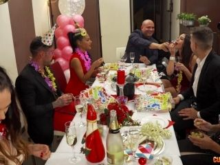 Good-Looking Girls Want To Turn This Birthday Party Into A Real Orgy