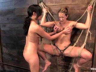 Trina Michaels gets humiliated and tormented hard by Annie Cruz