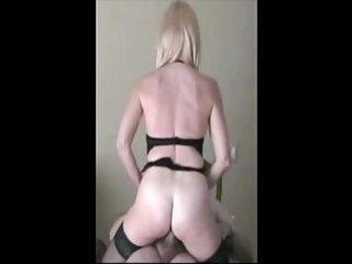 Celebrity Milf rides old mans cock in stolen video. part 2
