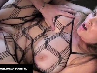 Busty Beauty Maggie Green Does Her 1st Boy/Girl Scene Ever!