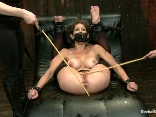 Fucking hot-ass BDSM scene with big titty whore