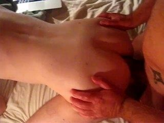 Me, Dutch daddy with huge dick fucks Dutch twink, 20 years old, bareback