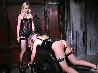 Slavegirl Gets Spanked And Caned