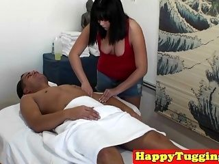 Asian Masseuse Tugging For Extra Tip (3)