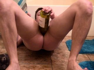 Drunk anal Play