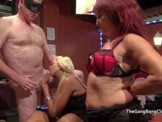 Older Ladies At The Orgy Party