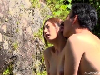 Amazing Outdoor Sex Experience For A Nasty Asian Goddess
