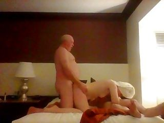 At The Hotel With Friends Wife