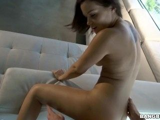 Karter Foxx Gets Fucked On The Couch
