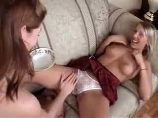 Fabulous Homemade clip with Teens, Lesbian scenes
