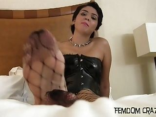 I Will Let You Worship My Spectacular Feet (2)