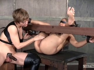 Mistress With A Strap-On Wants To Hear Her Slave Girl Moan