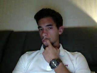 Portuguese Gorgeous Boy,Hot Round Ass,Nice Cock On Cam