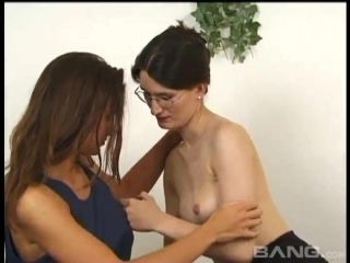 Adorable Lesbians Strip Unconsciously In Their Foreplay Before Doing It Erotically